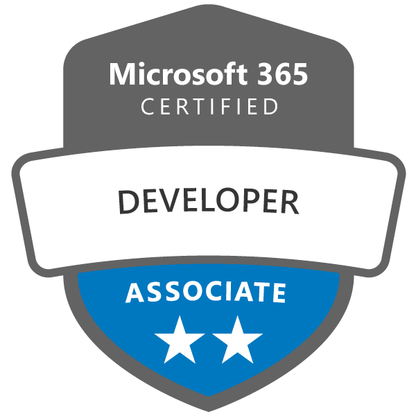 Microsoft Certified - Associate badge